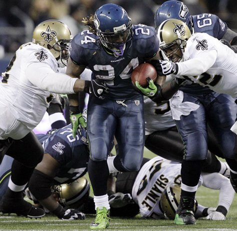 Relive 10 of Marshawn Lynch's best moments with the Seahawks: ThanksMarshawn