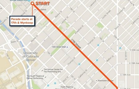Here's the route of Tuesday's Broncos SuperBowl victory parade: SB50