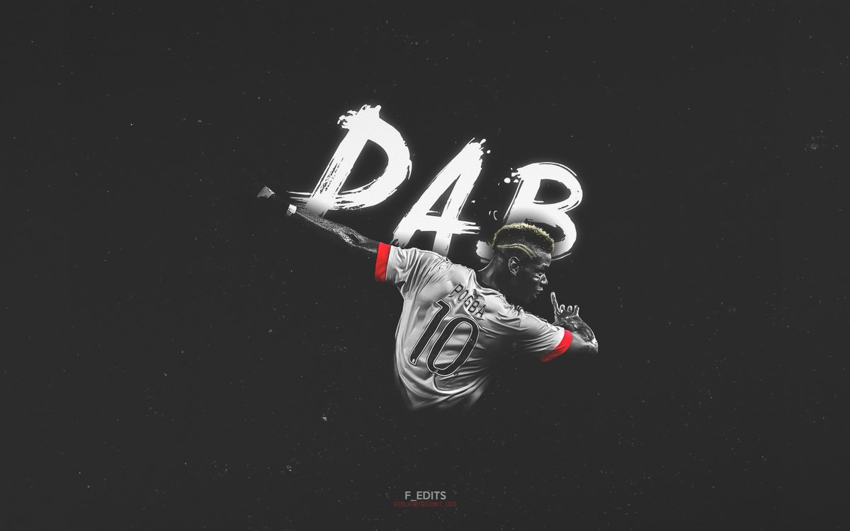 "Football Edits On Twitter: ""Paul Pogba #DAB Desktop"