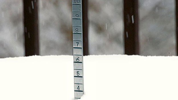 Latest snow totals: February 8 storm.