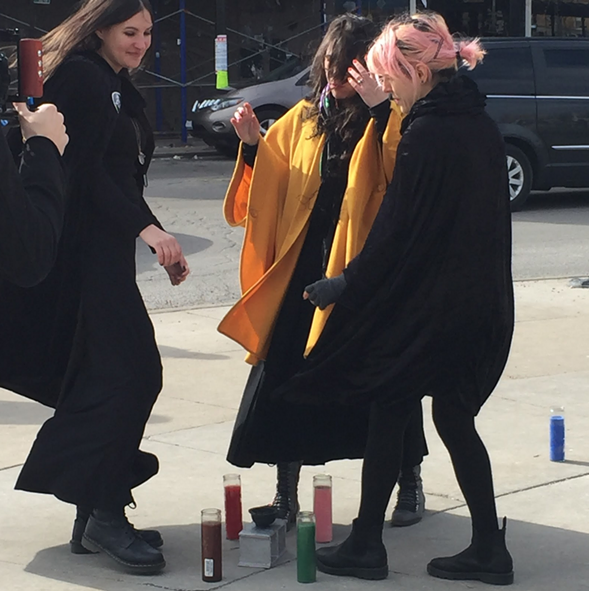 A coven of witches hexed Rahm, greedy landlords, and the gentrification of Logan Square.