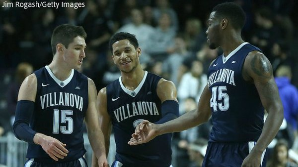 Villanova is ranked No. 1 for first time in school history during the regular season |