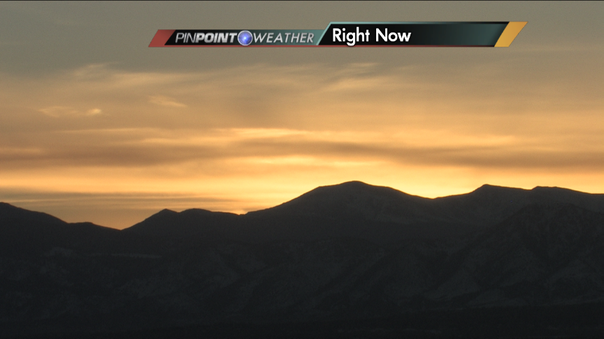 So fitting to have @Broncos orange in tonight's sunset. cowx