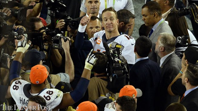 After winning Super Bowl, Manning's expression seemed to say: