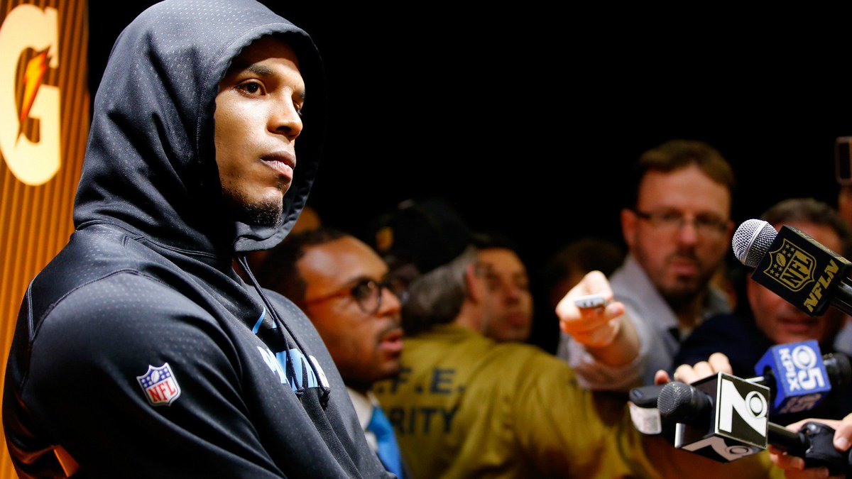 The likely reason Cam Newton walked out of his postgame press conference