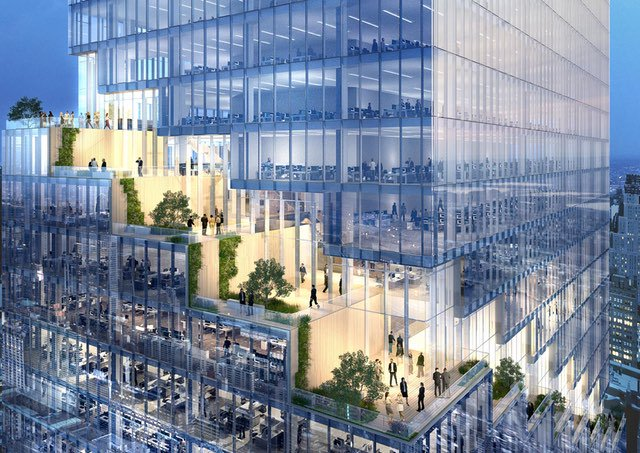 Here's The Spiral, A 1,005-Feet-High Office Tower Coming To The Top Of The High Line
