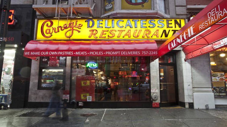Carnegie Deli will reopen tomorrow (10 months after closing)! @carnegiedeli