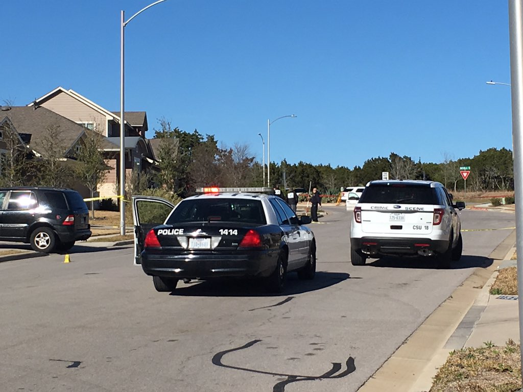 A couple photos from scene of fatal officer-involved shooting in Northeast Austin