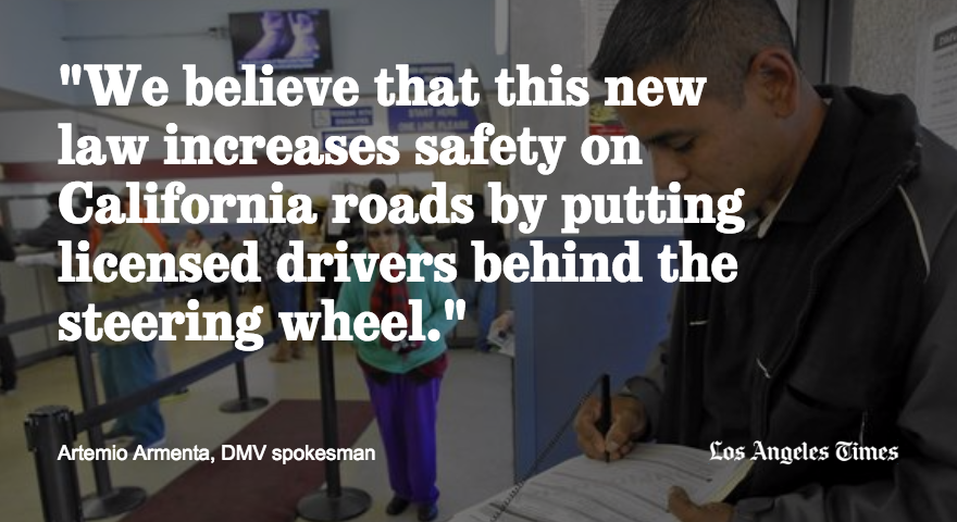There's been a boom in driver's licenses issued to immigrants here illegally