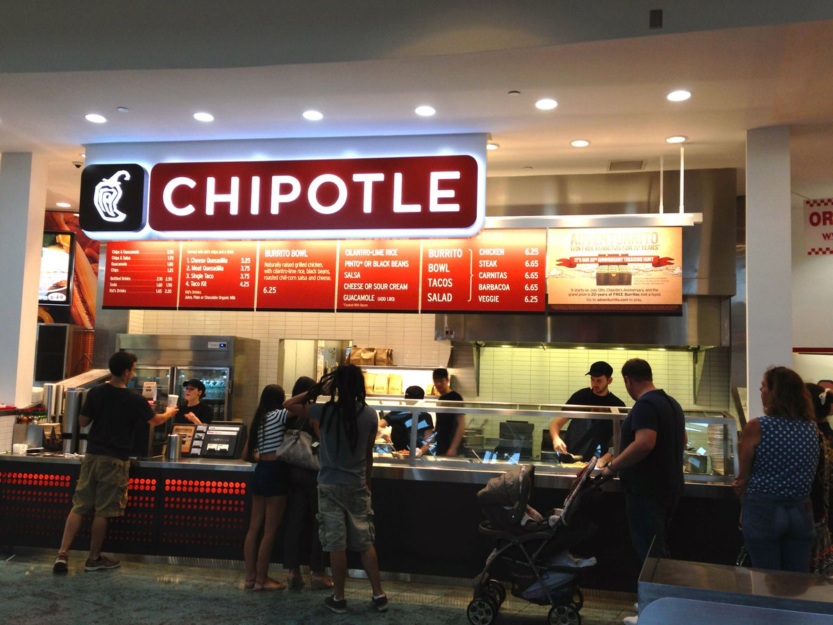 Chipotle giving away free burritos today (that hopefully won't make you sick).