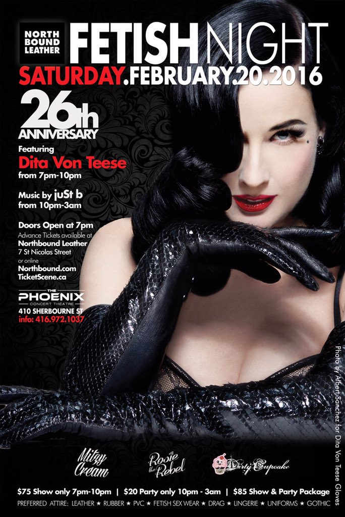 Celebrate 26 Years of @_Northbound_ with us and an #exclusive performance by #QueenOfBurlesque @DitaVonTeese Feb 20! https://t.co/0Bmy9YeoLP