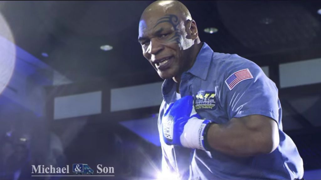 Watch the making of the Super Bowl ad starring @MikeTyson that only aired in DC.