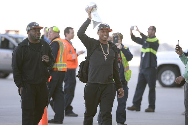 The Broncos have landed