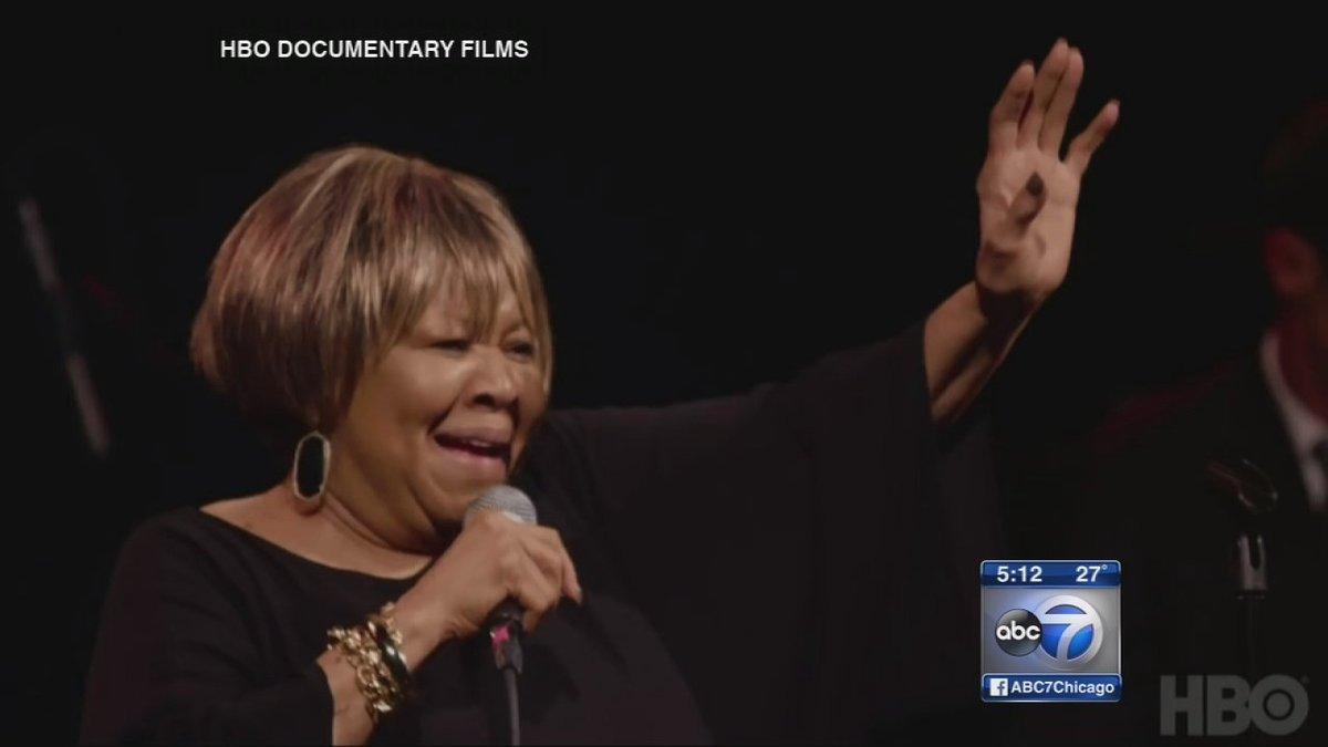 A new documentary about legendary gospel singer Mavis Staples premieres in Chicago tonight