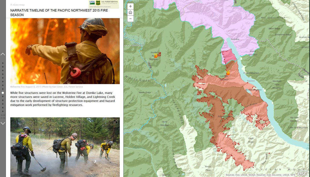 Forest Service Nw On Twitter New Interactive Story Map Released On