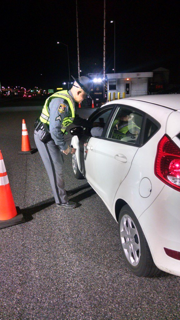 MDTA Police removed 23 impaired drivers from your roads this weekend! towardzerodeaths