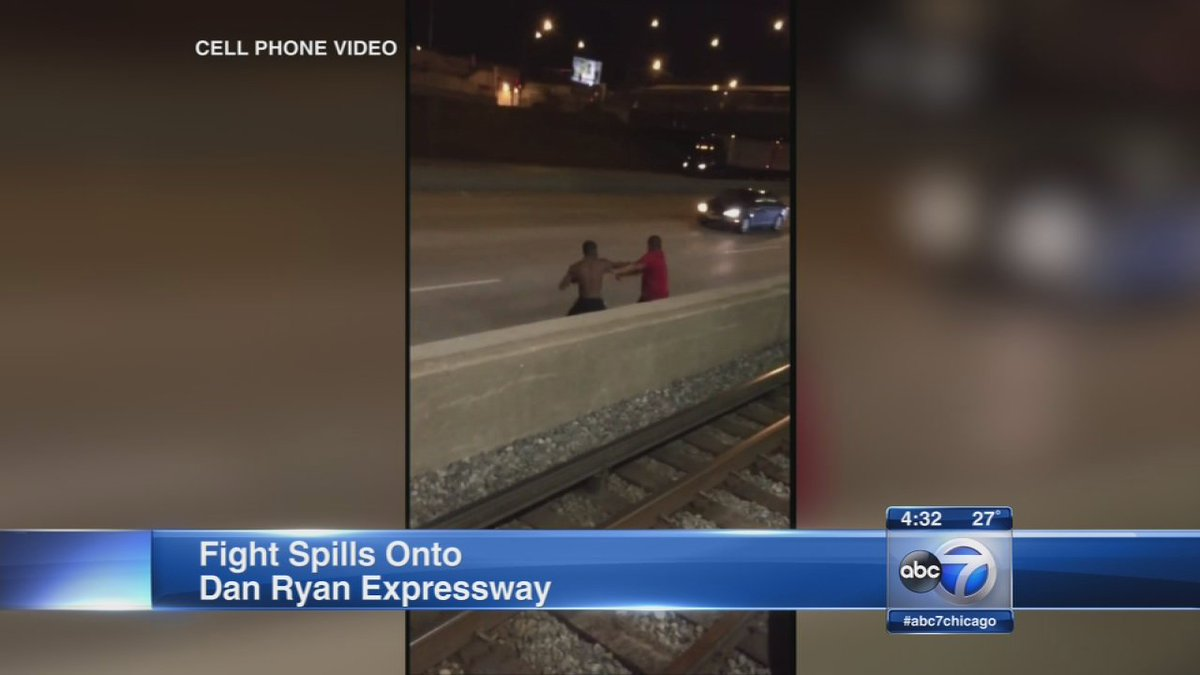 Fight at CTA station spills onto Dan Ryan expressway...