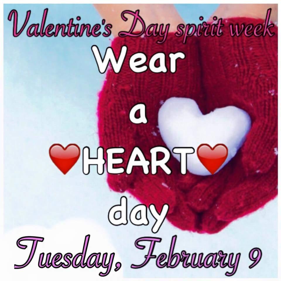 Gahr Gladiators On Twitter Valentine S Spirit Week Starts Tomorrow