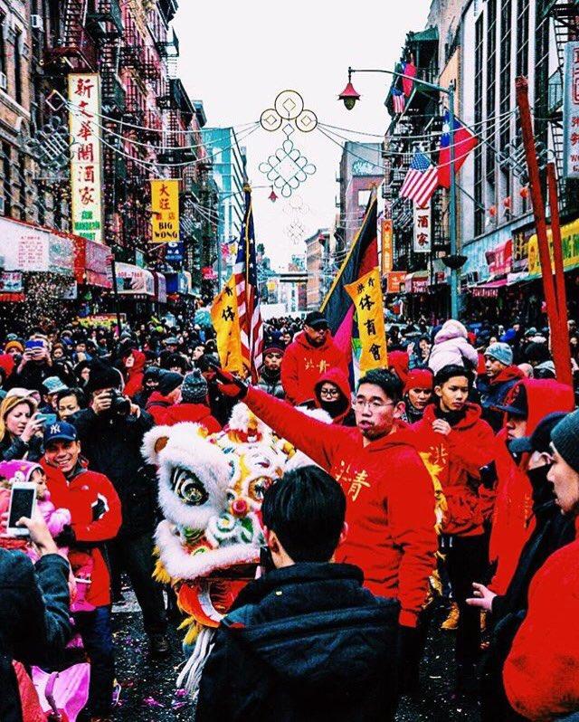 Happy Chinese New Year! Chinatown NYC (: yushi.95 on Instagram)