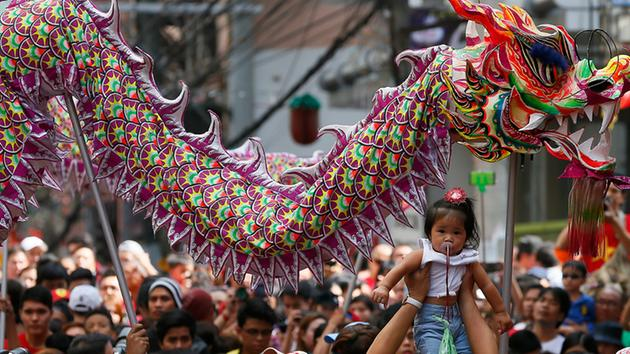 See how people around the world are celebrating LunarNewYear