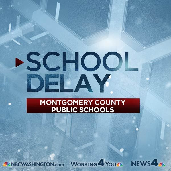 SCHOOL DELAY: Montgomery Co. Public Schools will open 2-hours late today, February 9, 2016.