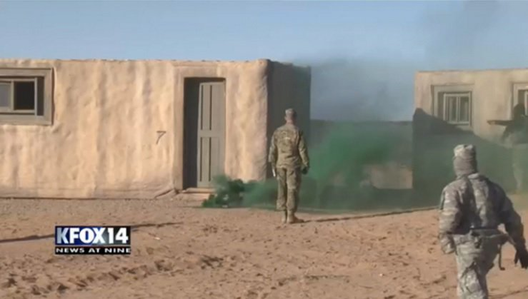 Fort Bliss 3rd Brigade combat team participates in joint training with Air Force.