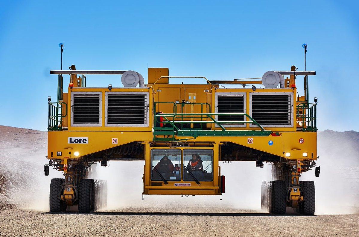 vehiculo para mover radiotelescopios