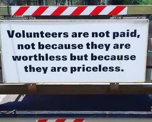 Happy #CharityTuesday and thank you for being a #volunteer