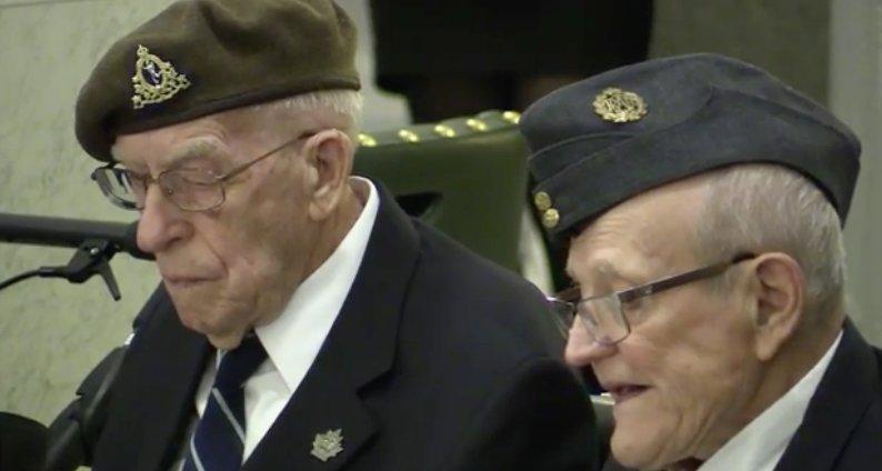 Nine Alberta veterans of D-Day awarded France's highest honour
