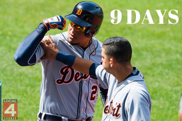 9 DAYS. BaseballIsBack