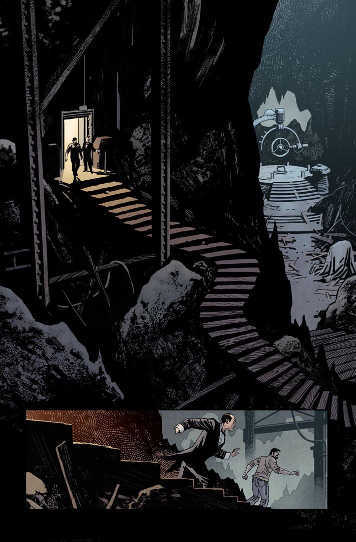 Batman 49 available tomorrow. Awesome @Ssnyder1835 craziness and some of the best @nathanfairbairn colours ever https://t.co/C64iiB4b51