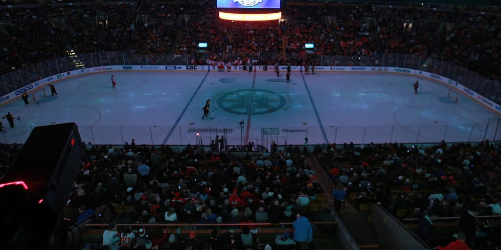 A power outage during the Beanpot final harkened back to the 1988 Stanley Cup Final