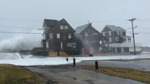 South Shore towns clean up after strong winds, flooding from storm