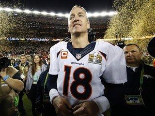 Why does Peyton Manning keep name-dropping Budweiser?