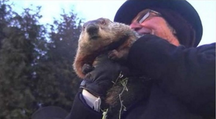 The Northeast is getting hit with another snow storm, so police arrested the groundhog