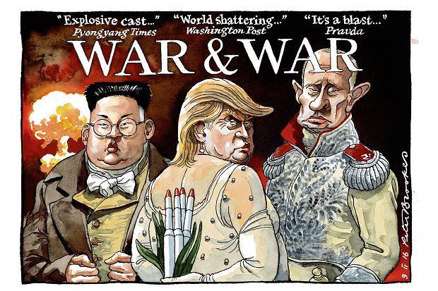 Αποτέλεσμα εικόνας για trump putin caricature