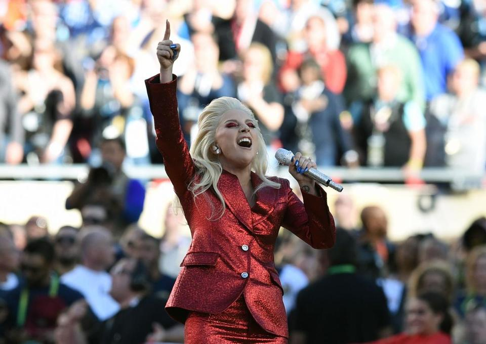 If Lady Gaga's anthem was the best, Steven Tyler's might be the worst SB50