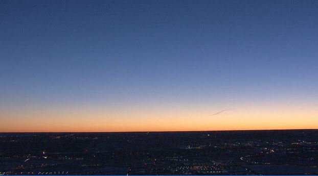 Mother Nature shows off her best BroncosSunrise ahead of today's victory parade in Denver. 9newsmornings Sky9