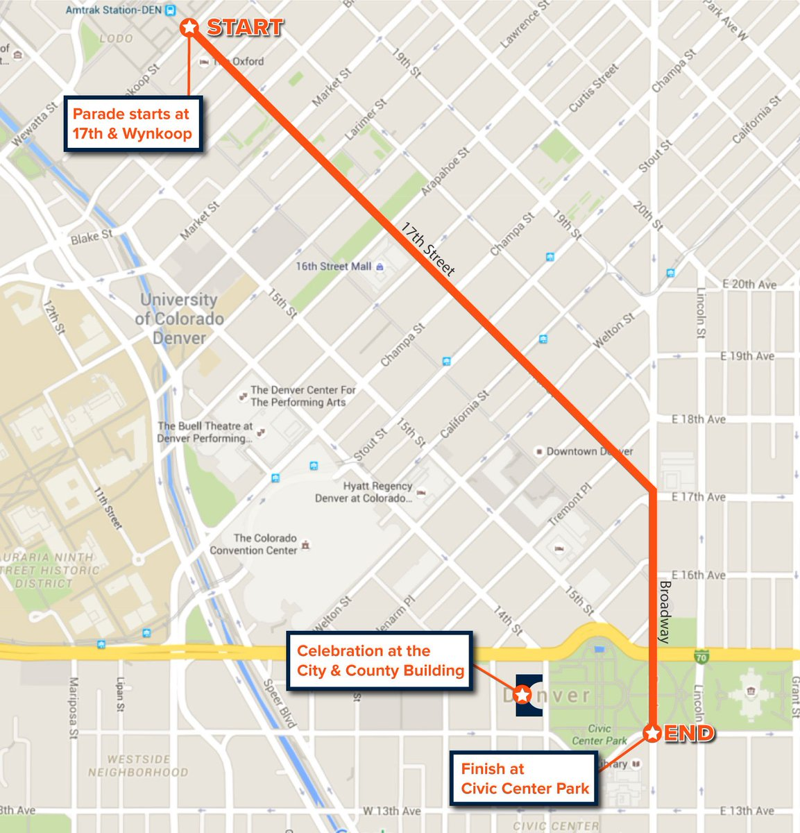 Broncos Super Bowl victory parade: Street closures, bus & light rail impacts and more