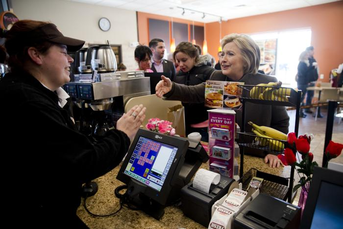 Attn New Hampshire: Here's how much each candidate spent on Dunkin' Donuts