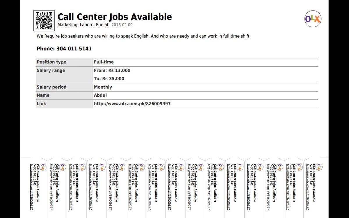 Top 12 Olx com Lahore Jobs - Gorgeous Tiny