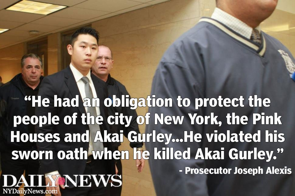 Prosecutor: Peter Liang violated his duty as an NYPD officer with Akai Gurley's killing