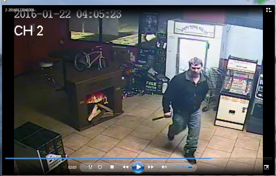 Suspect smashed into liquor store in Sterling Heights, stole cigarettes and alcohol.