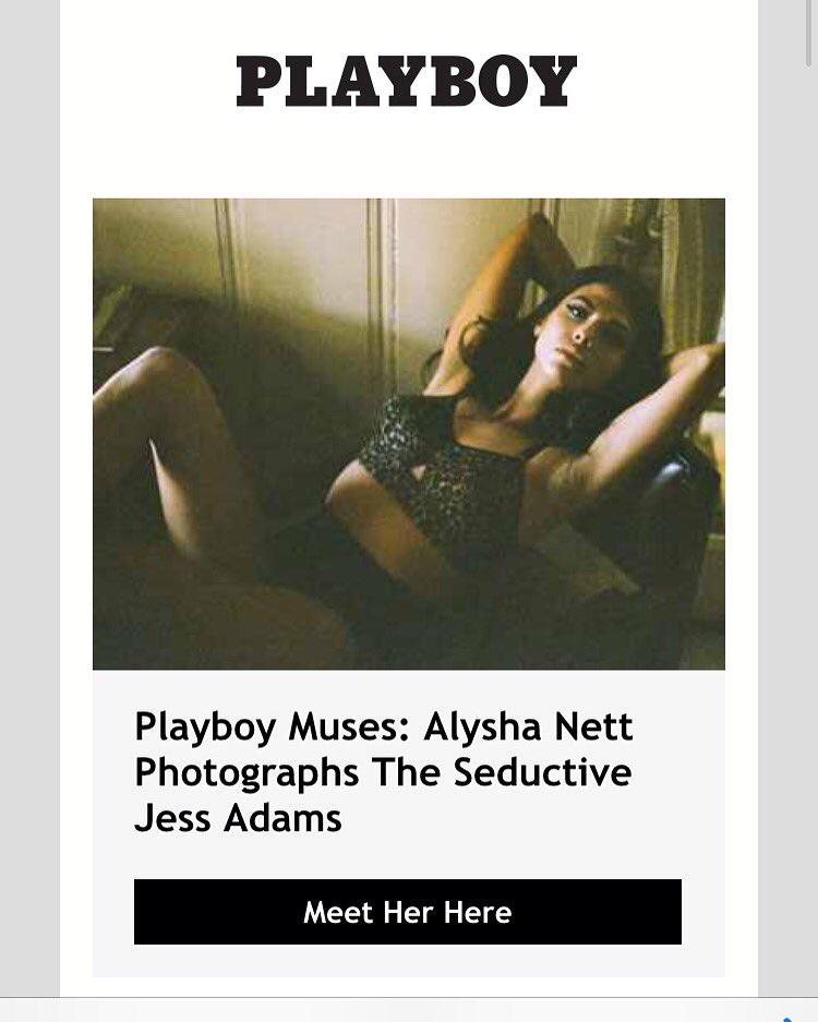 Thank you @Playboy @alyshanett @normandycoast #muse #newsletter #playboy #jessadams https://t.co/0NykCNwdTn