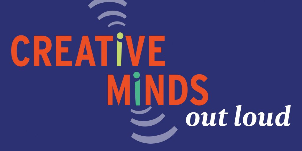 Introducing Creative Minds Out Loud, a #podcast for arts and culture nerds. https://t.co/B3OoPdf44g https://t.co/6QaFQVaWp1