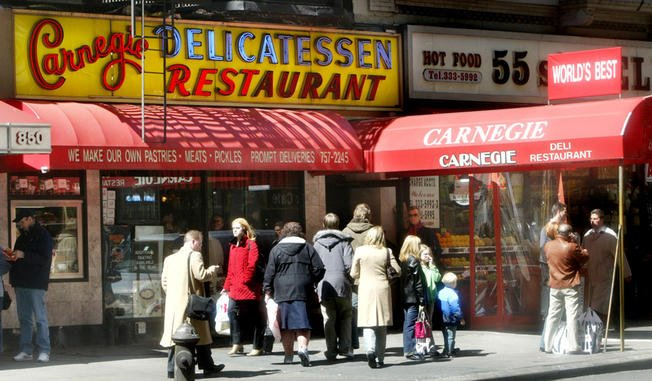 Carnegie Deli reopens today after 10 month closure
