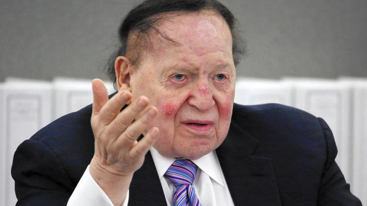 Las Vegas reporters feel casino giant Sheldon Adelson's tightening grip