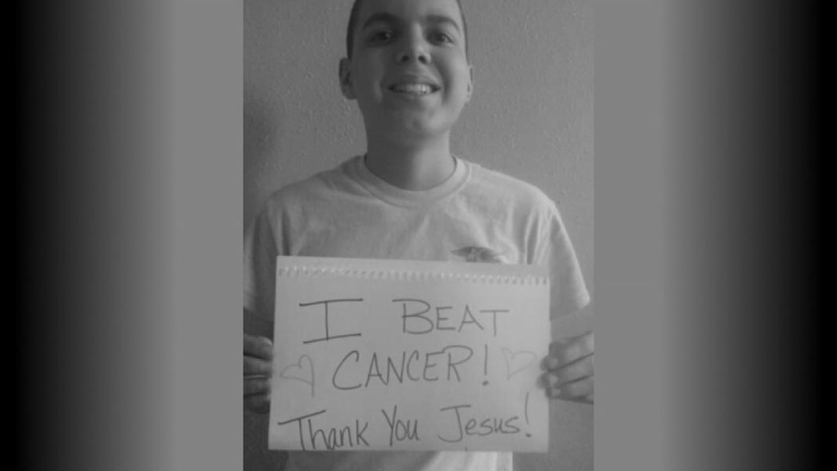Texas teen's cancer-free Facebook post goes viral