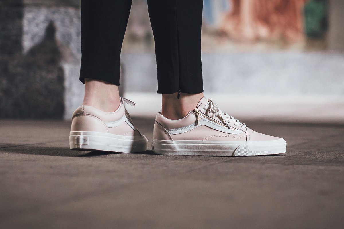 TITOLO on Twitter u0026quot;NEW IN! Vans Old Skool - Whispering Pink/Blanc De Blanc SHOP HERE https//t ...