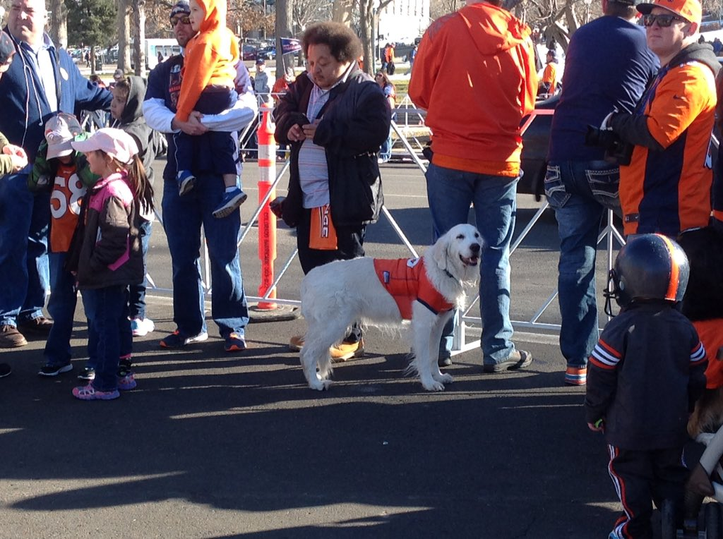 Every fan is out for the BroncosParade